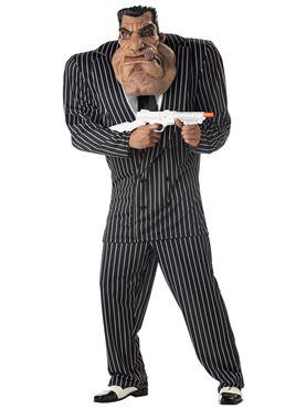 Adult Massive Mobster Gangster Costume