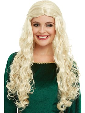 Adult Medieval Dragon Goddess Wig