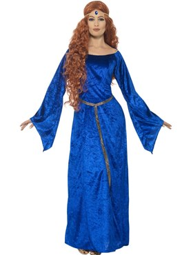 Adult Medieval Maiden Costume Thumbnail