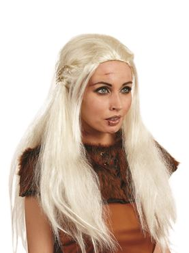 Adult Medieval Princess Wig