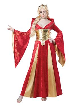 Adult Medieval Queen Costume