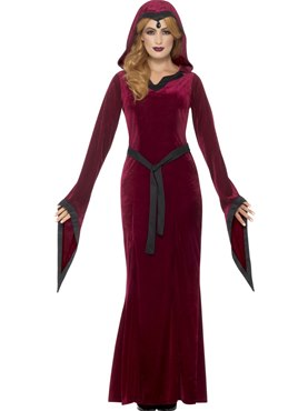 Adult Medieval Vampiress Costume