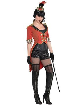 Adult Ladies Ringmaster Tailcoat