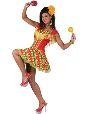 Adult Mexican Lady Costume