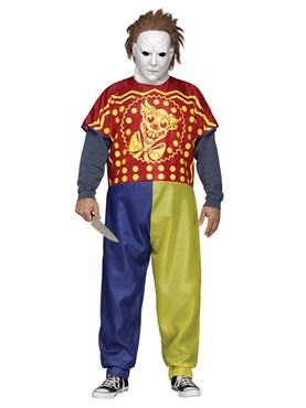 Adult Michael Myers Clown Costume