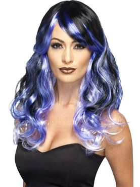 Adult Midnight Siren Ombre Wig