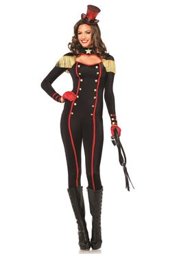 Adult Military Keyhole Catsuit Costume