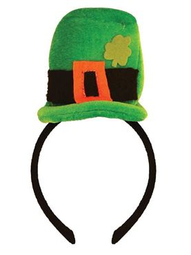 Adult Mini Leprechaun Hat on Headband
