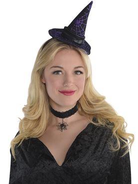 Adult Mini Witch Hat Headband