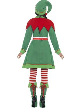 Adult Miss Elf Costume - Side View