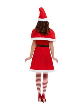 Adult Miss Santa Costume - Side View