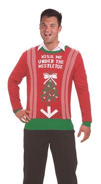 Adult Mistletoe Sweater