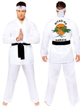 Adult Miyagi Do Karate Costume - Side View