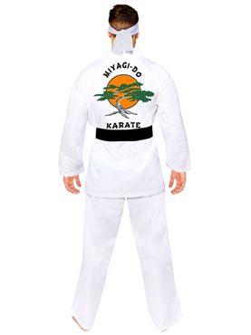 Adult Miyagi Do Karate Costume - Back View