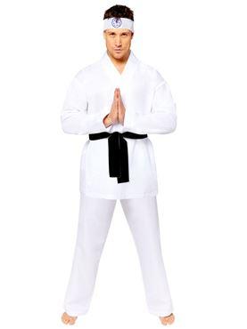 Adult Miyagi Do Karate Costume Couples Costume