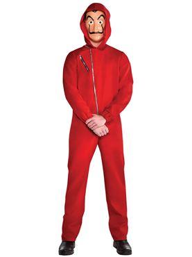 Adult Money Heist Costume