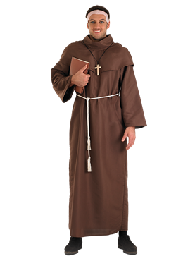 Adult Monk Costume Couples Costume