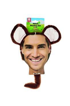 Adult Monkey Kit - Back View