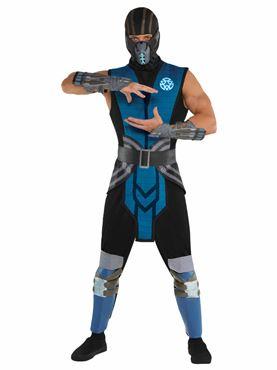 Adult Mortal Kombat Sub Zero Costume
