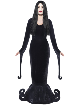 Adult Morticia Duchess of the Manor Costume Couples Costume
