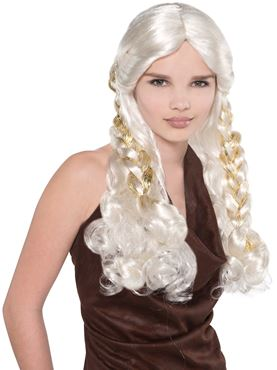 Adult Mother of Dragons Wig