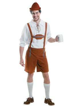 Adult Mr Oktoberfest Guy Costume