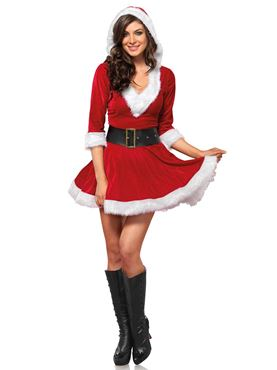 Adult Mrs Claus Costume Thumbnail