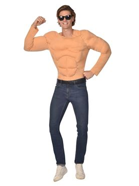 Adult Muscle Shirt Costume