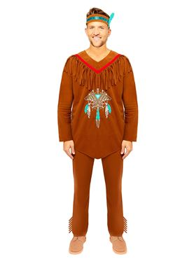 Adult Native American Costume Couples Costume