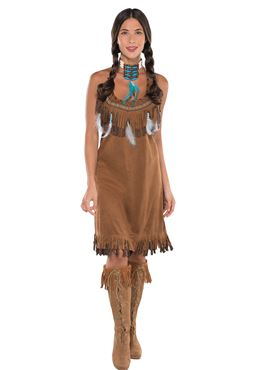 Adult Native American Dress