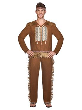 Adult Native American Man Costume
