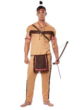 Adult Native Brave Costume Thumbnail
