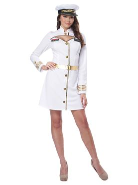 Adult Navy Captain Costume Couples Costume