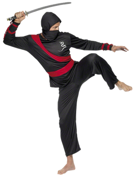 Adult Ninja Warrior Costume Couples Costume
