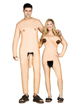 Adult Nudists Couple Costume