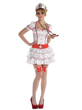 Adult Nurse IV Costume Couples Costume
