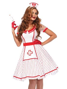 Adult Nurse Nikki/Bedside Betty Costume