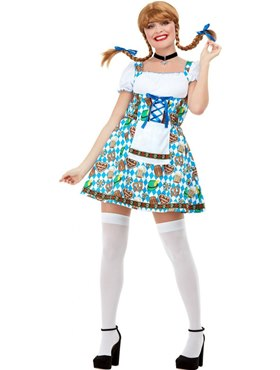 Adult Oktoberfest Beer Maiden Costume