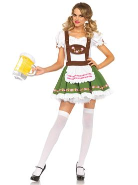 Adult Oktoberfest Sweetie Costume - Side View