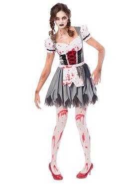 Adult Oktoberfest Zombie Costume