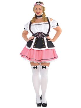 Adult Oktobermiss Costume - Back View