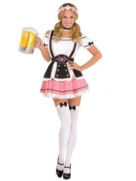 Adult Oktobermiss Costume Couples Costume
