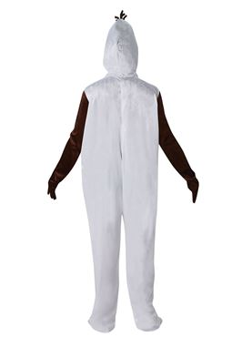Adult Olaf Costume - Back View