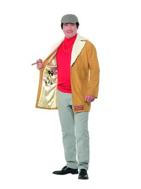 Adult Only Fools and Horses Del Boy Costume - Back View
