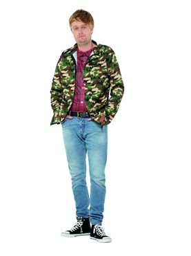 Adult Only Fools and Horses Rodney Costume - Back View