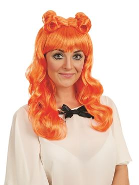 Adult Orange Cosplay Wig