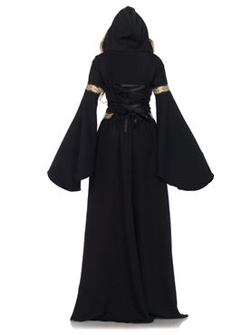 Adult Deluxe Pagan Witch Costume - Back View