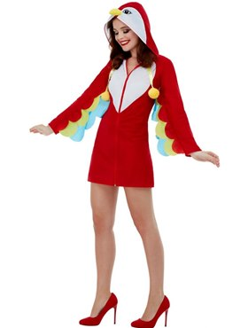 Adult Parrot Costume - Back View