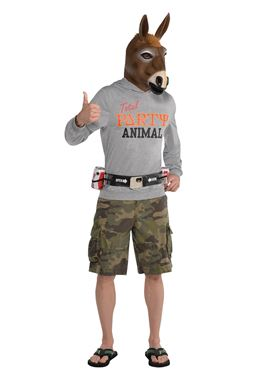 Adult party jackass costume 845760 55 fancy dress ball adult party jackass costume solutioingenieria Choice Image