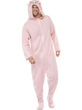 Adult Pig Onesie Costume
